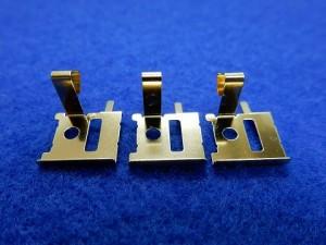 通信機器向け金メッキ接点端子部品の金メッキ加工事例