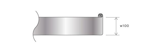 フープメッキ処理を施すコイル・シート部品のコストダウン設計(条数増加) Before