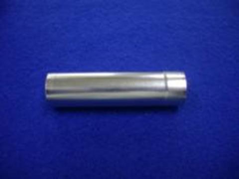 家庭用二次電池向け18650サイズ家庭用二次電池向けリチウムイオン電池ケース部品 半光沢ニッケルメッキ加工事例ズリチウムイオン電池ケース