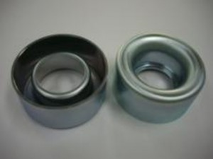自動車向けエンジン用プーリー部品の亜鉛メッキ3価クロメートメッキ加工事例