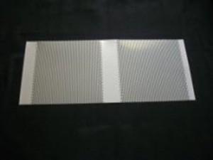 パンチングフープ材の無光沢ニッケルメッキ加工事例