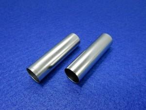 家庭用二次電池向けリチウムイオン電池ケース部品の半光沢ニッケルメッキ事例