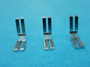 電子接点部品のニッケルメッキ加工事例