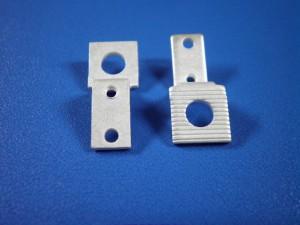 電気機器向け接点板の銅-銀メッキ加工事例