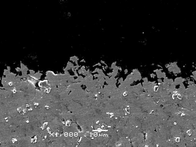 金属表面の微細加工