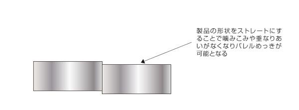 バレルメッキ処理へ対応した形状変更によるラックメッキ処理からの工法変換コストダウン② After