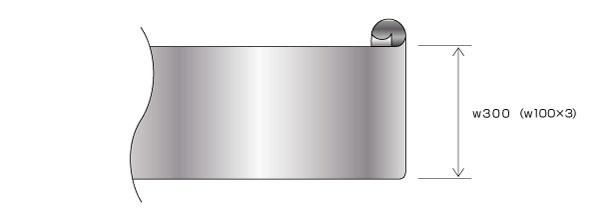 フープメッキ処理を施すコイル・シート部品のコストダウン設計(条数増加) After